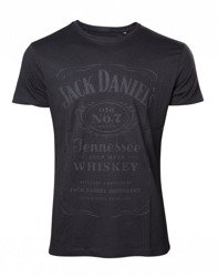 koszulka JACK DANIELS - BLACK CLASSIC LOGO