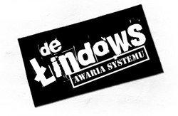 naszywka DE ŁINDOWS - AWARIA SYSTEMU