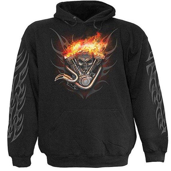 bluza WHEELS OF FIRE, kangurka z kapturem