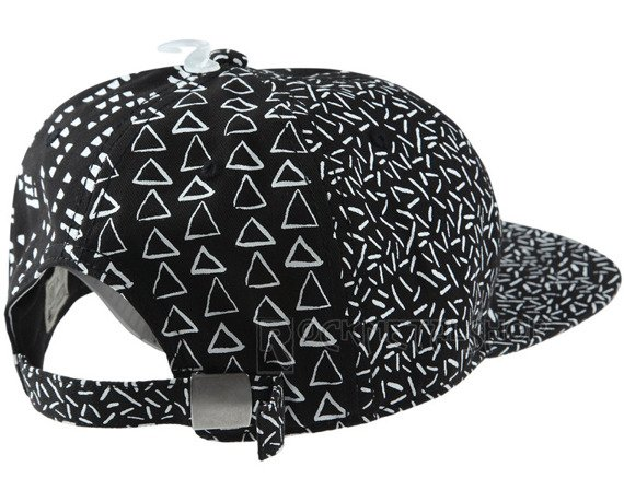 czapka CONVERSE - DECONSTRUCTED WOMEN'S PATTERN BLACK