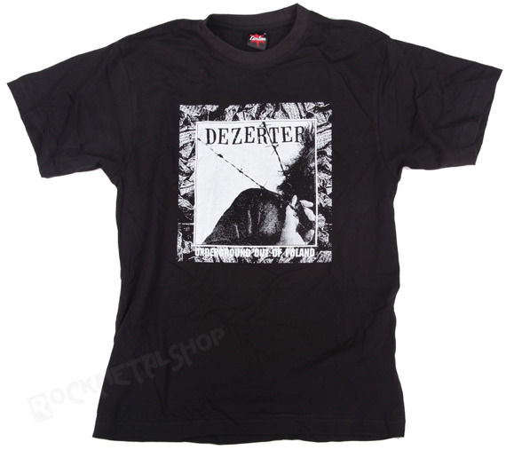 koszulka DEZERTER - UNDERGROUND OUT OF POLAND