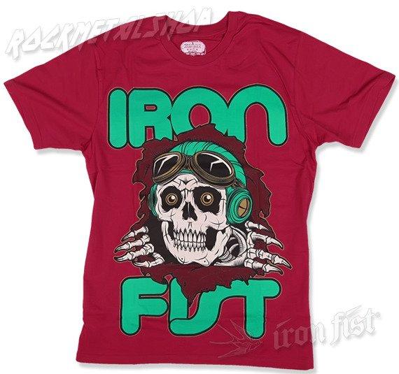 koszulka IRON FIST - BROKEN BONES (RED)