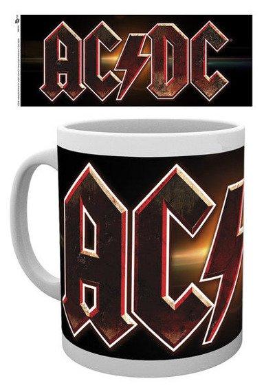 kubek AC/DC - LOGO