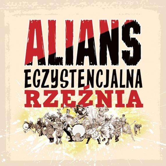 płyta winylowa ALIANS - EGZYSTENCJALNA RZEŹNIA (LP) czarny winyl