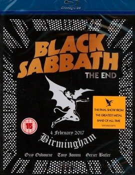 BLACK SABBATH: THE END...LIVE 2017  BIRMINGHAM (BLU-RAY)