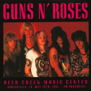 GUNS N' ROSES:  DEER CREEK MUSIC CENTER (2LP VINYL)