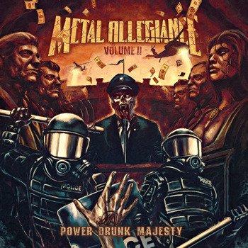 METAL ALLEGIANCE:  VOLUME II  - POWER DRUNK MAJESTY (CD)