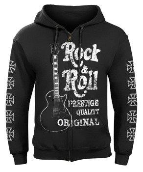bluza ROCK & ROLL PRESTIGE QUALITY ORIGINAL rozpinana, z kapturem