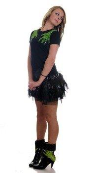 bluzka damska  IRON FIST - SECOND BASE (BLACK)