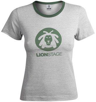bluzka damska LION STAGE szary melanż