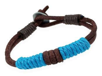bransoletka BOHO BROWN BLUE