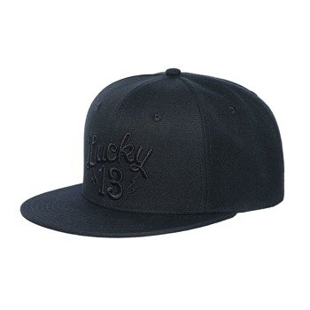 czapka LUCKY 13  - SHOCKER SNAPBACK BLACK/BLACK