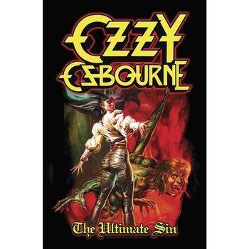 flaga  OZZY OSBOURNE -  THE ULTIMATE SIN