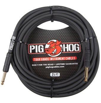 kabel do gitary PIG HOG PH25 jack prosty, 7,6m