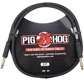 kabel do gitary PIG HOG PH3 jack prosty, 0,9m