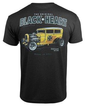 koszulka BLACK HEART - YELLOW BOY HOT ROD BLACK