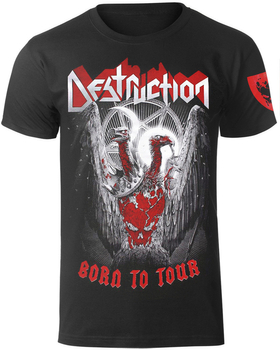 koszulka DESTRUCTION - BORN TO TOUR