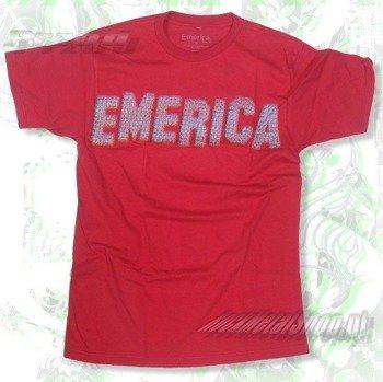 koszulka EMERICA - HILLS HALFTONE (CARDINAL) 09'