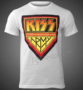 koszulka KISS - KISS ARMY WHITE