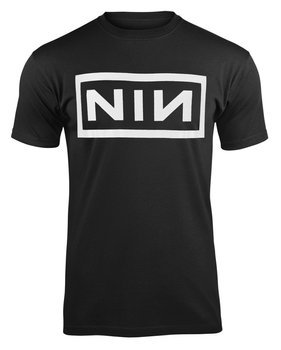 koszulka NINE INCH NAILS - CLASSIC WHITE LOGO