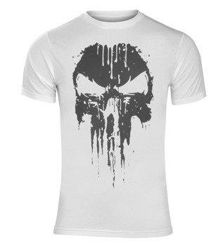 koszulka THE PUNISHER - LOGO biała