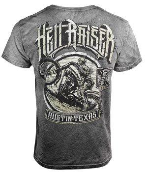 koszulka WEST COAST CHOPPERS - HELL RAISERS VINTAGE, barwiona