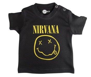 koszulka niemowlęca NIRVANA - SMILEY