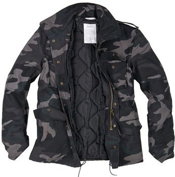 kurtka M65 US-FIELDJACKET blackcamo