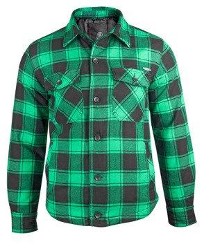 kurtka/koszula LUMBERJACKET green/black