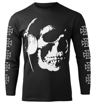 longsleeve HEADPHONE SKULL