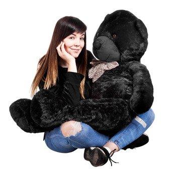 maskotka pluszowy MIŚ CZARNY, 130 cm