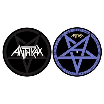 mata gramofonowa slipmata ANTHRAX - PENTATHRAX / FOR ALL KINGS