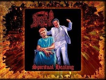 naklejka DEATH - SPIRITUAL HEALING