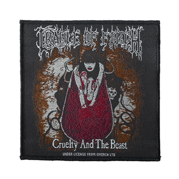 naszywka CRADLE OF FILTH - CRUELTY AND THE BEAST