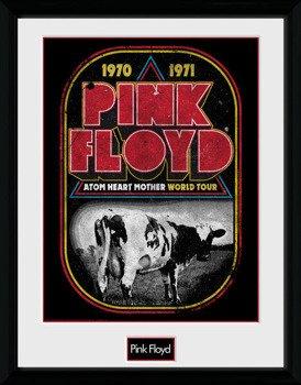 obraz w ramie PINK FLOYD - ATOM HEART WORLD TOUR