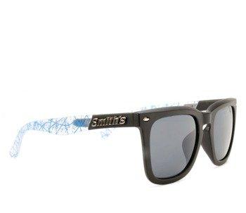 okulary SMITHS - BLACK BLUE