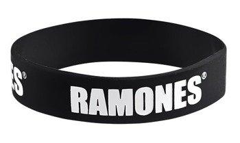 opaska RAMONES - LOGO, silikonowa