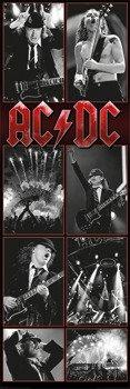 plakat AC/DC - LIVE MONTAGE