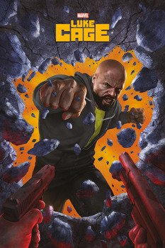 plakat LUKE CAGE - WALL BRAEK