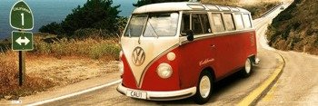 plakat VW CAMPER - ROUTE ONE