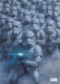 plakat z metalu STAR WARS - TROOPER ARMY