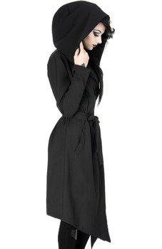 płaszcz damski NOX COAT, z kapturem