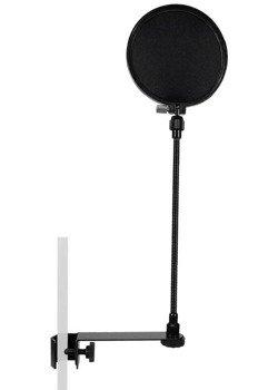pop filtr do mikrofonu GATT AUDIO PS-2 Ø16.5 cm, na gęsiej szyjce