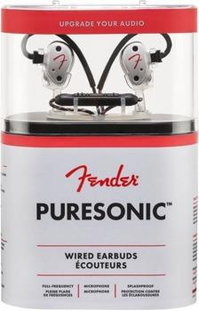 słuchawki przewodowe FENDER PURESONIC PREMIUM WIRED EARBUDS PEARL