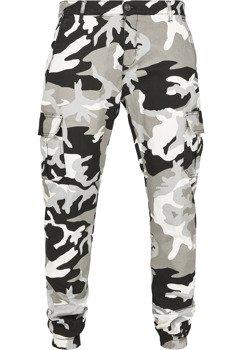 spodnie bojówki CAMO CARGO JOGGING PANTS 2.0 snowcamo