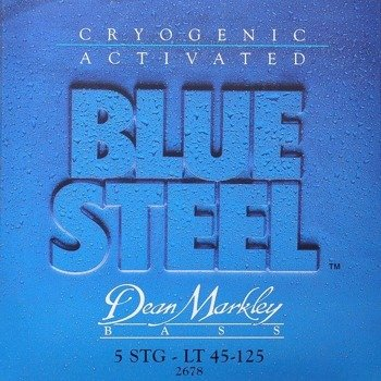struny do gitary basowej 5str. DEAN MARKLEY - BLUE STEEL LT 45-125