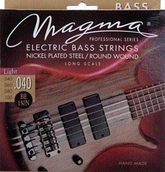 struny do gitary basowej MAGMA BE150N Nickel Plated / Light /040-100/