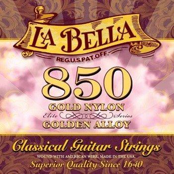 struny do gitary klasycznej LA BELLA Elite Series 850 Golden Superior