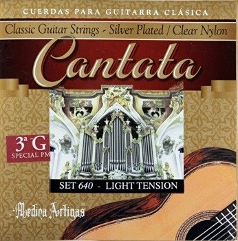 "struny do gitary klasycznej MEDINA ARTIGAS 3G ""Cantata"" Light Tension 640"