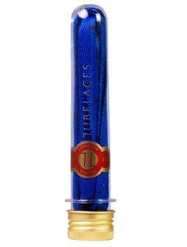 sznurowadła TUBELACES - GOLD FLAT SPLATTER II BLUE/BLACK (130 cm)